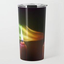Rainbow Smoke Travel Mug