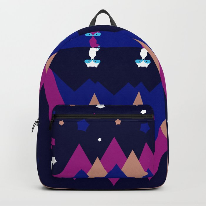 Foxes and shadows Backpack
