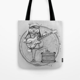 Joyful Noise -- Black and White Variant Tote Bag
