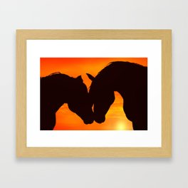 Wholeheartedly Framed Art Print