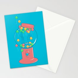 Balloon, Gumball Stationery Cards