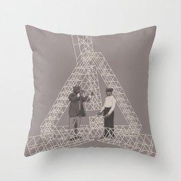 Salutem Machina 04 Throw Pillow