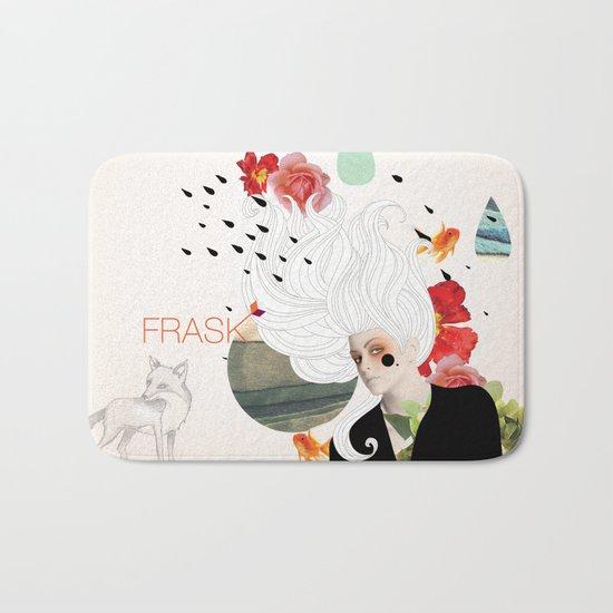 FRASK Collage Bath Mat
