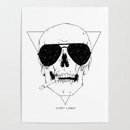 Smokes & Skulls Poster