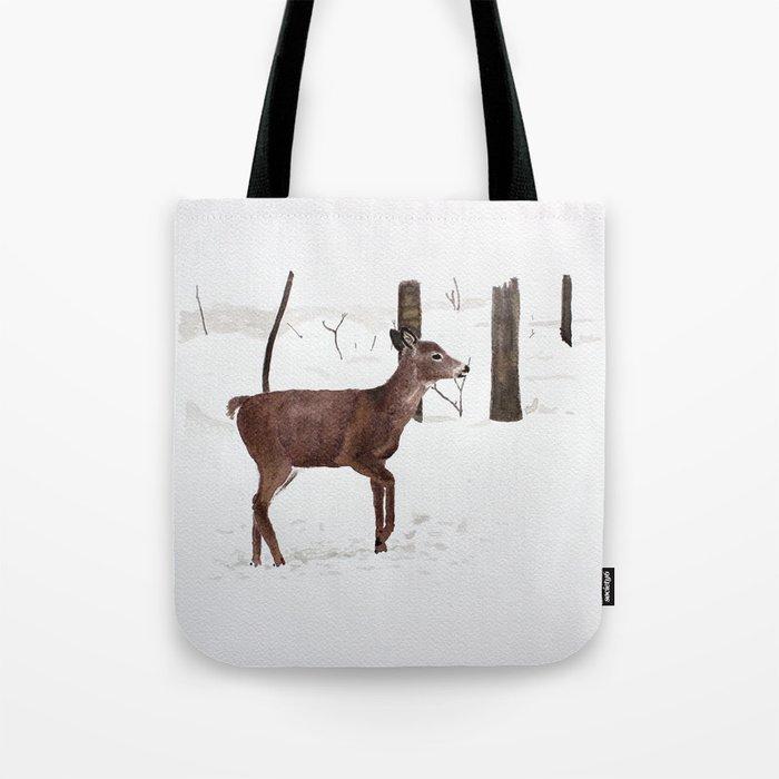 Chevreuil Tote Bag