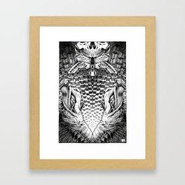 Crawl Back In Framed Art Print
