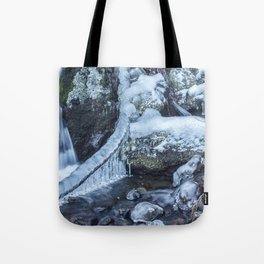 Ice and Water, No. 4 Tote Bag