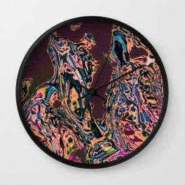 water art 7 Wall Clock
