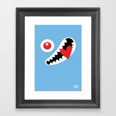 EYE LOVE Framed Art Print