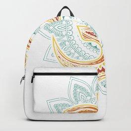 Om Zen Mandala Yoga Meditation Circle Backpack