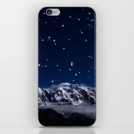 At the roof of the world iPhone Skin