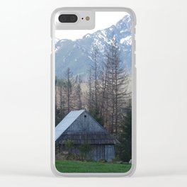 In the montains Clear iPhone Case