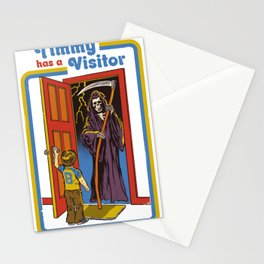 TIMMY HAS A VISITOR Stationery Cards