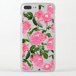Rose || Clear iPhone Case