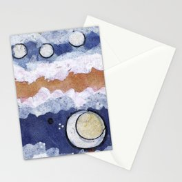 If the blue sky is a fantasy, Stationery Cards