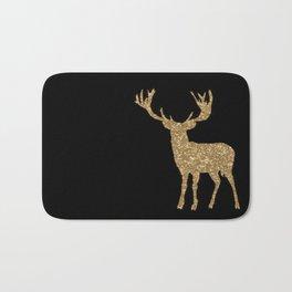 Sparkling golden deer - Wild Animal Animals Bath Mat