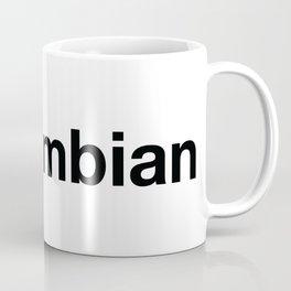 COLOMBIAN Hashtag Coffee Mug