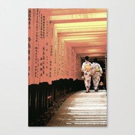 Traditional Japan Canvas Print