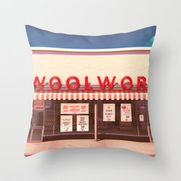 F.W. Woolworth Throw Pillow