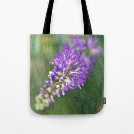 Purple Hebe Macro Tote Bag