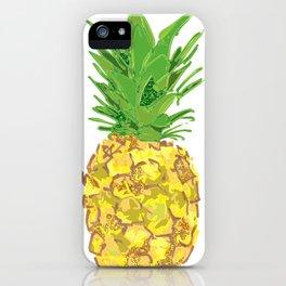 Statement Pineapple iPhone Case