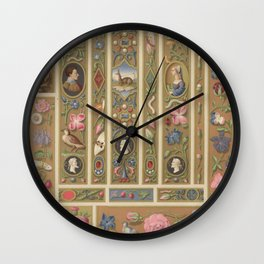 Renaissance Ornament Wall Clock