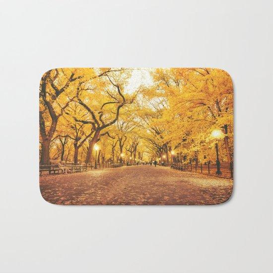 New York City Autumn Bath Mat