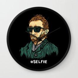 Van Gogh: Master of the #Selfie Wall Clock