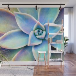 Bright Succulent Wall Mural