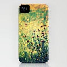 Yellow  iPhone (4, 4s) Slim Case
