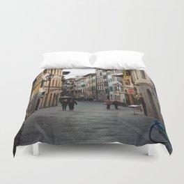 Via Faenza - Florence, Italy Duvet Cover