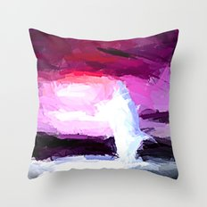Delphin in Action. Throw Pillow