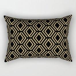Art Decó Rectangular Pillow