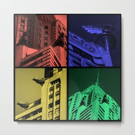 Chrysler Pop Art Metal Print
