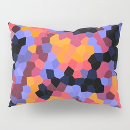Desert Sunset Geometrics Pillow Sham