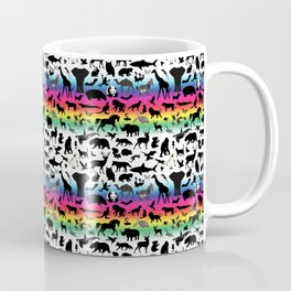 Rainbow Animal Kingdom Coffee Mug