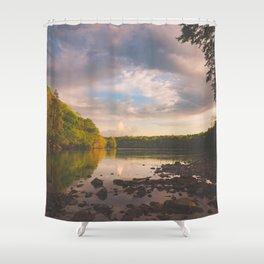 Sope Creek, Georgia Shower Curtain