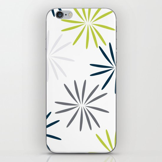 Simple Flower iPhone & iPod Skin