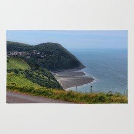 Lynton and Lynmouth, Devon, England Rug