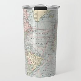 Vintage World Map (1901) Travel Mug