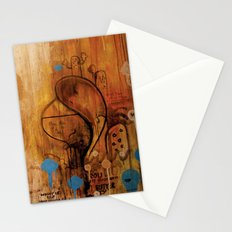 handicapped bull Stationery Cards