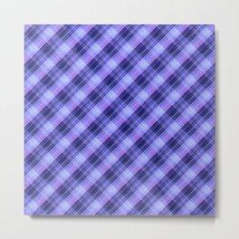 multicolored plaid, plaid plaid, beautiful plaid 2 Metal Print
