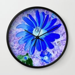 Psychedelic Sunshine Wall Clock