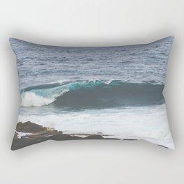 Lanzarote waves Rectangular Pillow