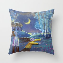 PURE HILL Throw Pillow