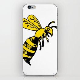 Yellowjacket Wasp Drawing iPhone Skin