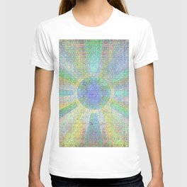 Surya Invocation (Sun) #2 - Magick Square Yantra Tantra T-shirt