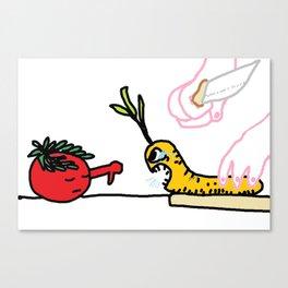Cesar Salad Canvas Print