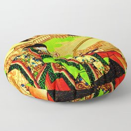 Kyoto Ukiyoe Landscape Floor Pillow