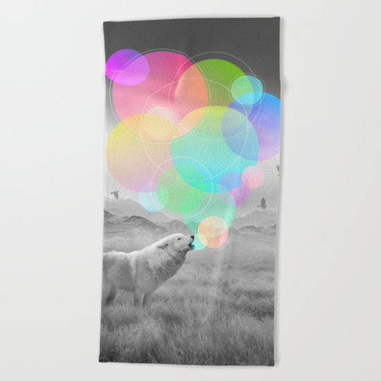 The Echoes of Silence Beach Towel